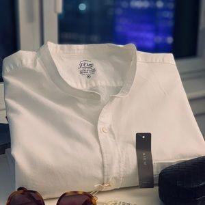 NWT white JCrew short sleeve shirt